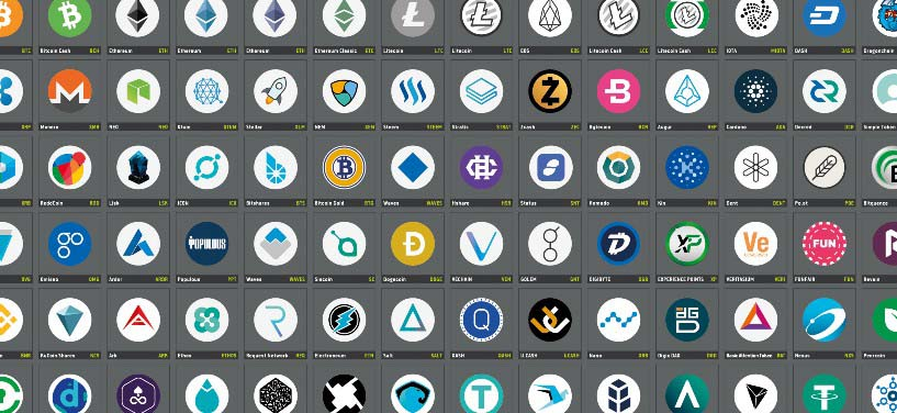Selection of tradable digital currencies